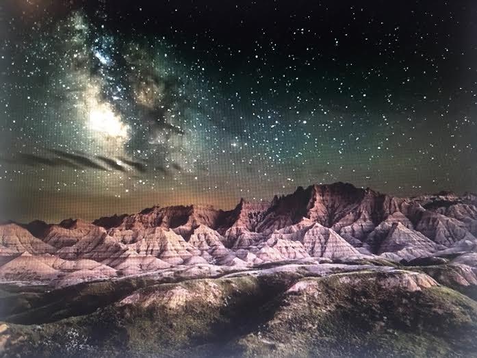 National Parks-Night Skies Winner by Erik Fremstad-Badlands National Park