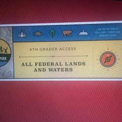Free Pass To National Parks for 4th graders and their parents & teachers