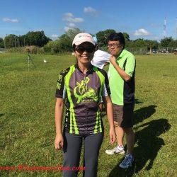 Joanna Kiang at Duanwu/Dragon Boat Race Festival of June 4, 2016 at Lake Fairveiw Park of Orlando, FL (credit: Windermere Sun-Susan Sun Nunamaker)