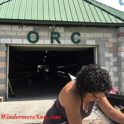 Certified Level II Rowing Instructor Denise at ORC (credit: Windermere Sun-Susan Sun Nunamaker)