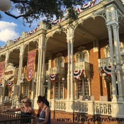 Inside Magic Kingdom. Many people got the same idea: Beautiful sunny day to visit Magic Kingdom (credit: Windermere Sun-Susan Sun Nunamaker)