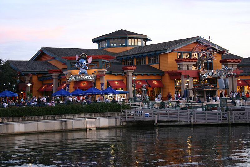 Disney Springs-World_of_Disney_(2307573262), Attribution-posted in Flickr by boky8