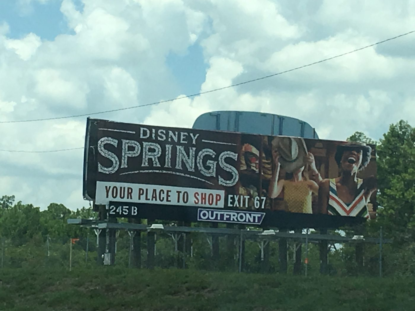 Disney Springs sign (credit: Windermere Sun-Susan Sun Nunamaker)