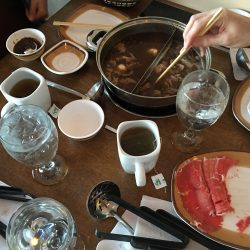 Cooking at Hotto Potto's new location: 1700 N. Semoran Blvd, #118, Orlando, FL 32807, 407-930-5366 (credit: Windermere Sun-Susan Sun Nunamaker)