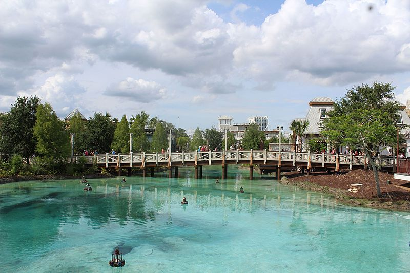 Springs_of_Disney_Springs_(26531042964), Attribution-Theme Park Tourist posted in Flickr, Creative Commons