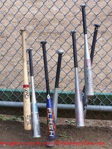 baseball-bats, (credit- lkwolfson)
