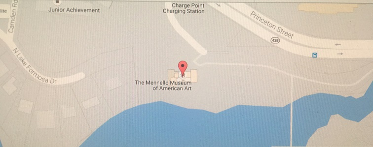 Map of Artlando location (Orlando Loch Haven Park, 900 E. Princeton St., Orlando, FL 32803)