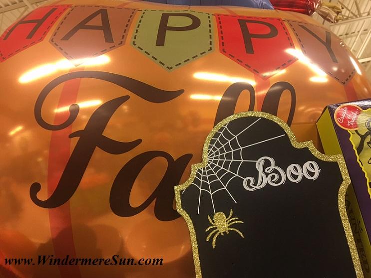 Halloween Balloon (credit: Windermere Sun-Susan Sun Nunamaker)