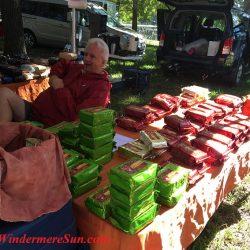 Relaxed Vendor (credit: Windermere Sun-Susan Sun Nunamaker)