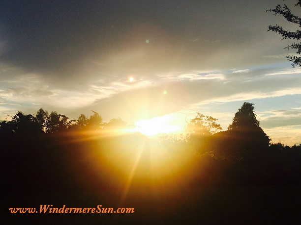 Sun Rays (credit: Windermere Sun-Susan Sun Nunamaker)
