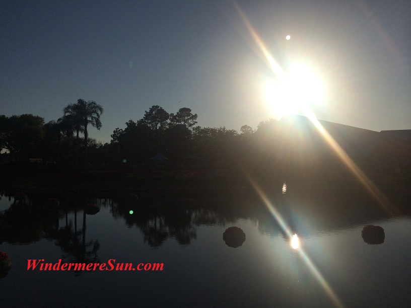 Sunshine, Its Reflection (credit: Windermere Sun-Susan Sun Nunamaker)