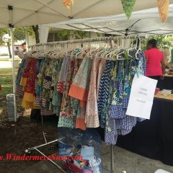 Windermere Farmer's Market hand made clothings (credit: Windermere Sun-Susan Sun Nunamaker)