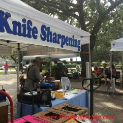 Knife Sharpening of WFM (credit:Windermere Sun-Susan Sun Nunamaker)