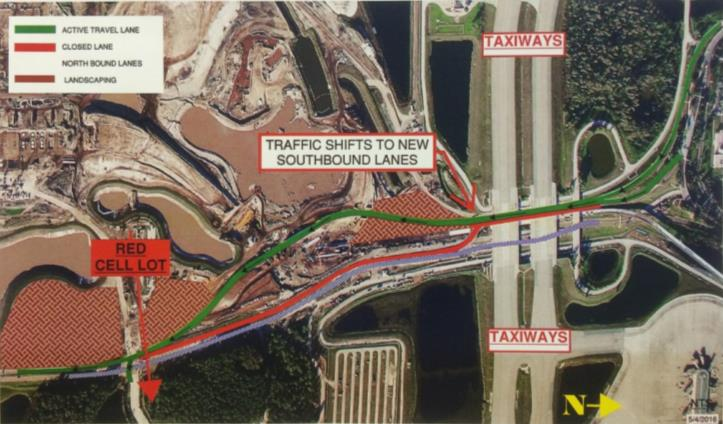 orlando-international-airport-traffic-shifts-to-new-southbound-lanes