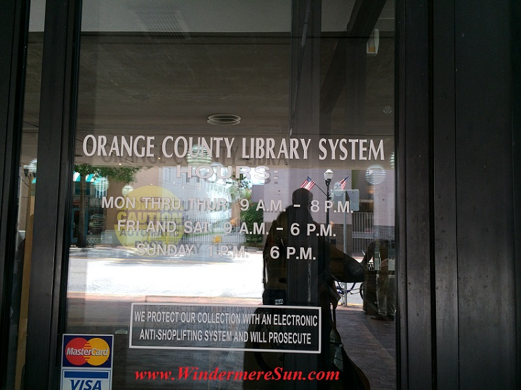 Orange County Library hours final