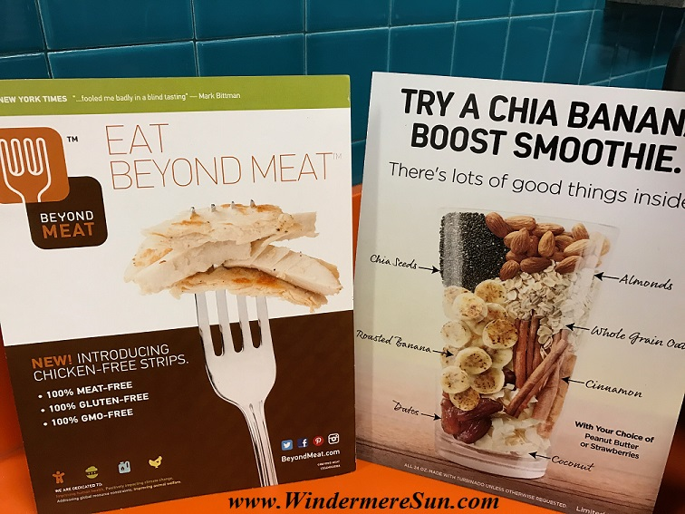 Beyond Meat and Chia Banana Smoothie final