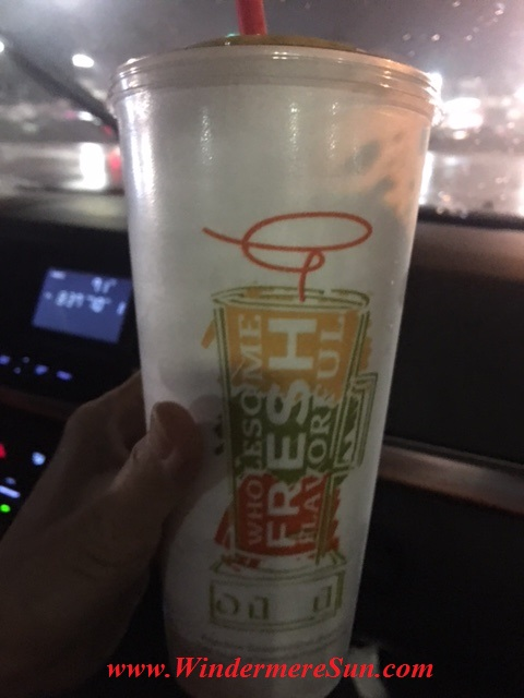 Smoothie Cup final