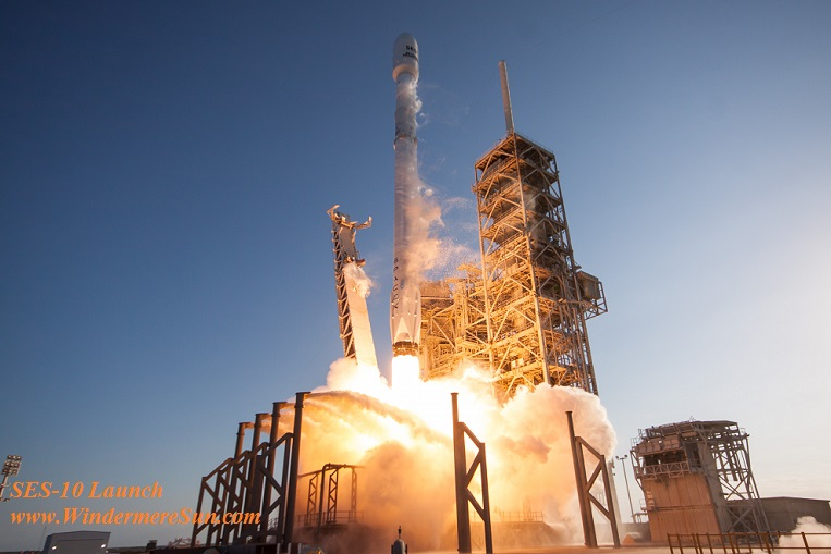 First Re-Used Rocket Successfully Launched by Space X ...
