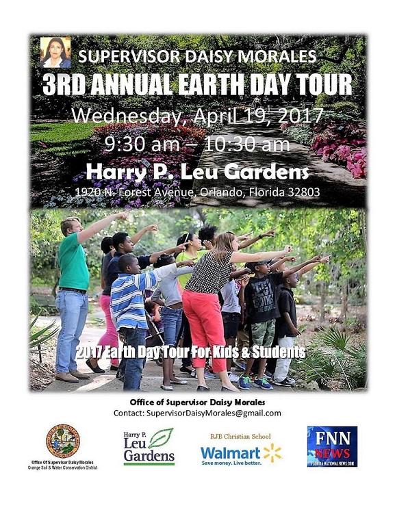 3rd Annual Earth Day Tour Leu Garden final