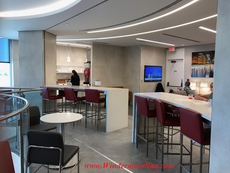 American Airline Admiral Club level 2-kitchen final