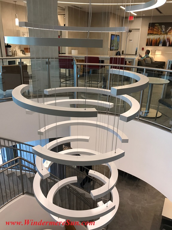 American Airline Admiral Club staircase sculpture-1 final