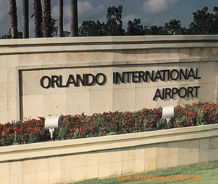 Orlando International Airport sign final