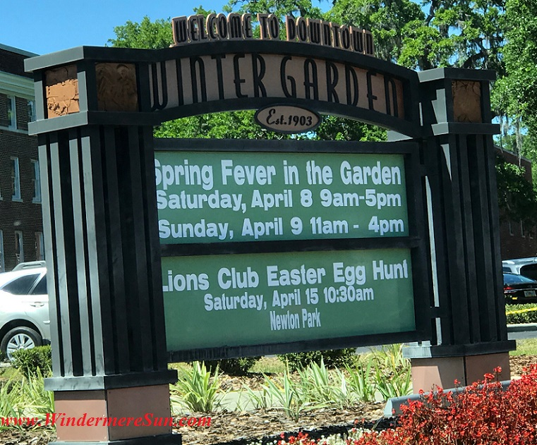 Spring Fever In The Garden sign final