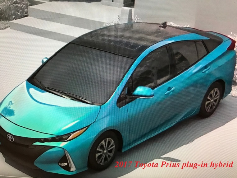 Panasonic Toyota Prius Prime Plug In Hybrid (with Optional Solar Roof)