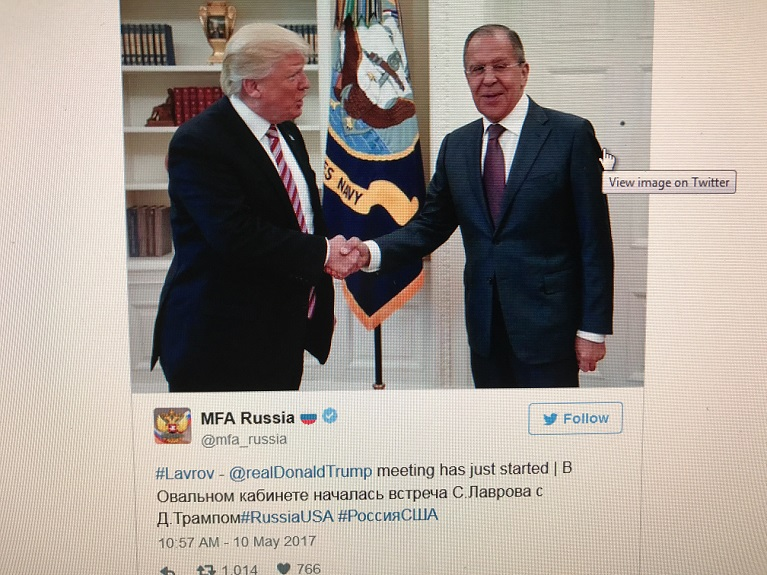 Trump with Sergey Lavrov final