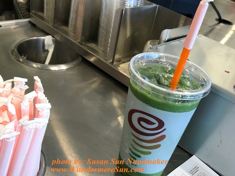 Greens 'N Giner Smoothie final
