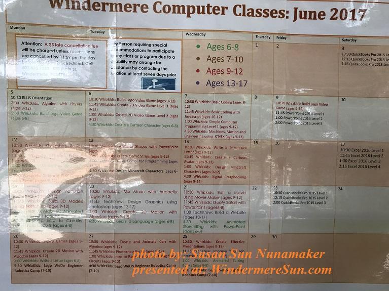 Windermere Computer Classes final