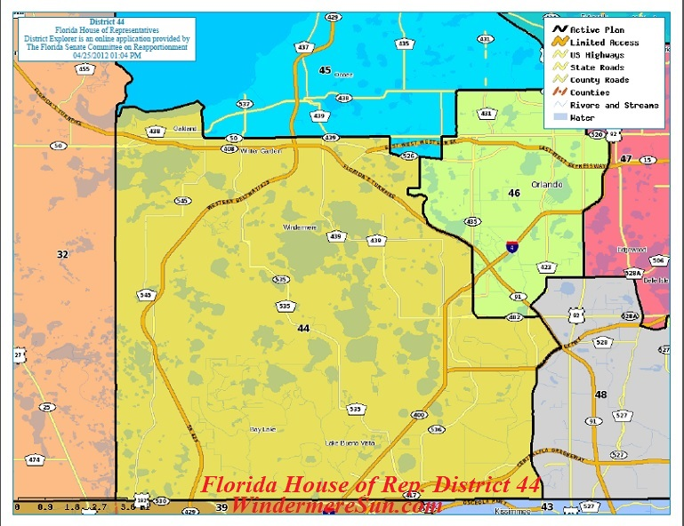 Florida House of Representatives District 44 final
