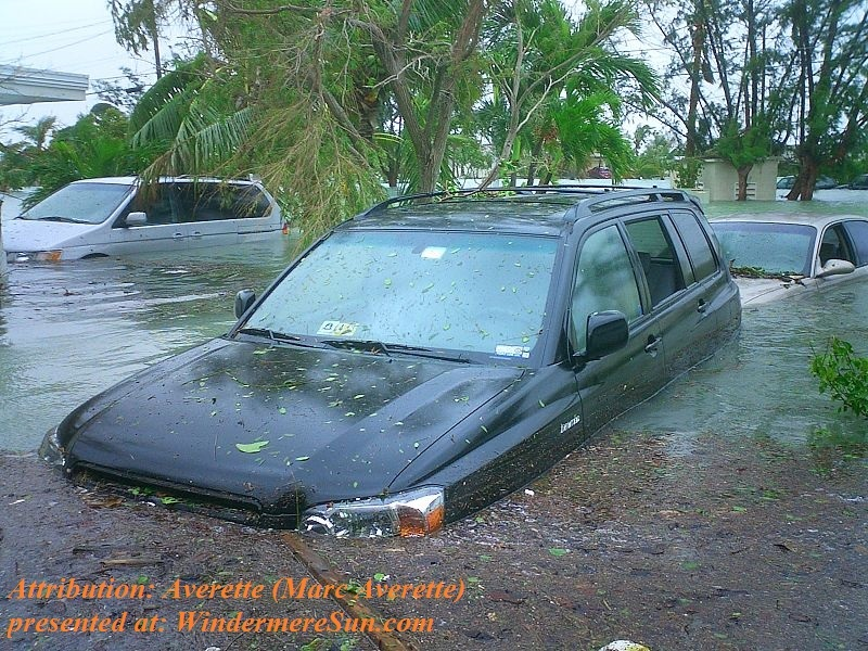 flooding near Key West, FL, USA, from Hurricane Wilma's storm surge in Oct. 2005 CC Attribution 3.0 Author Averette Marc Averette final