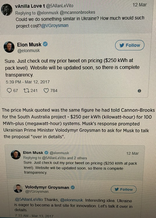 tweets for Elon from Ukrain final