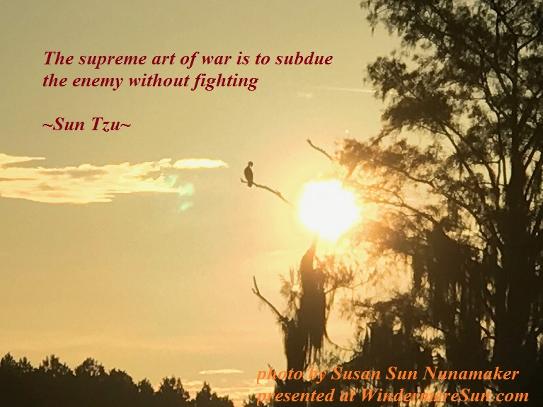 Supreme Art of War, by Sun Tzu, quote of 8-12-2017 final