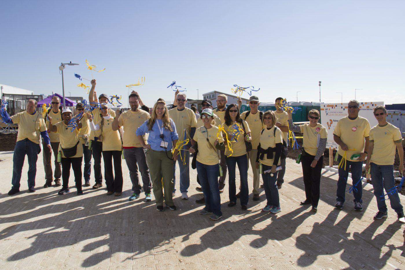 Solar Decathlon 2017 Volunteers, Credit: Garrett Bourcier:U.S. Department of Energy Solar Decathlon