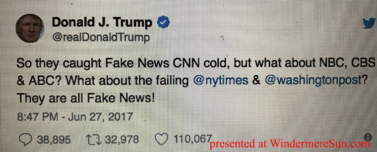 Trump Tweets Fake News final