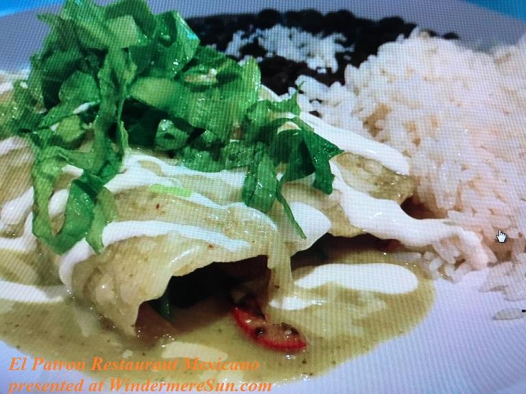 Vegetarian Enchiladas final
