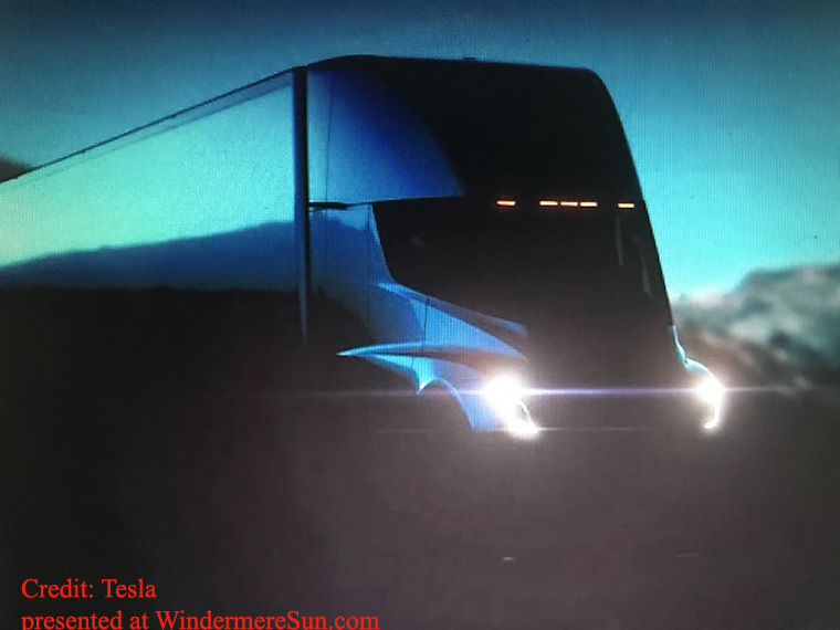 Tesla Semi (eTruck) final