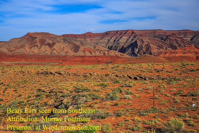 Bears Ears Seen From Southeast, attrib Murray Foubister final