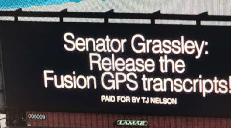 Iowa Billboard on-Release the Fusion GPS Transcripts final
