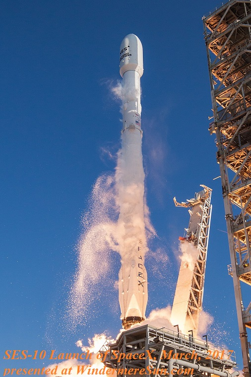 SES-10,The world's first ever reflight of an orbital class rocket, by SpaceX in March 2017 final