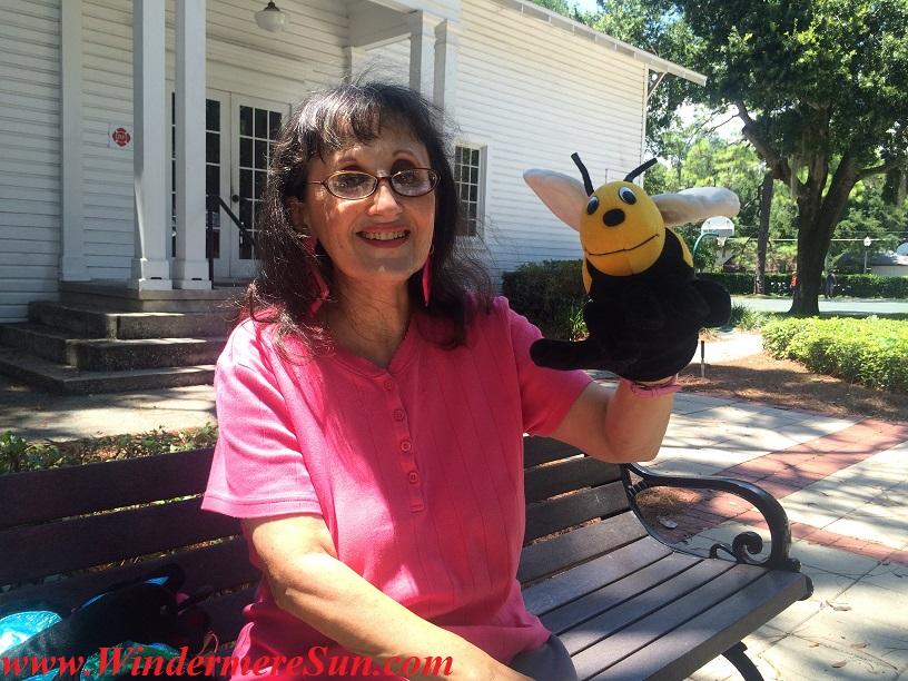 Bonnie's bee puppet final