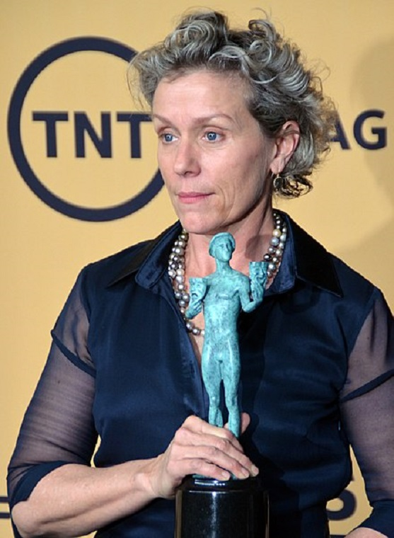 Frances_McDormand_2015, credit-Red Carpet Report on Mingle Media TV final