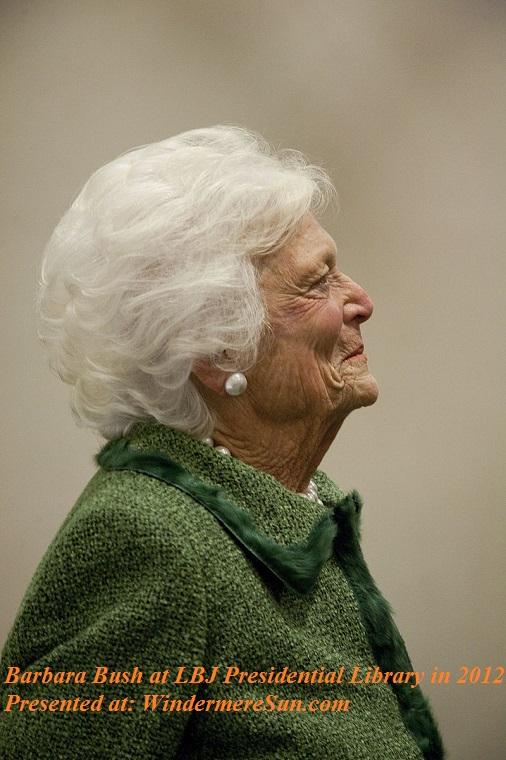 Barbara_Bush_at_LBJ_Presidential_Library in 2012, PD final