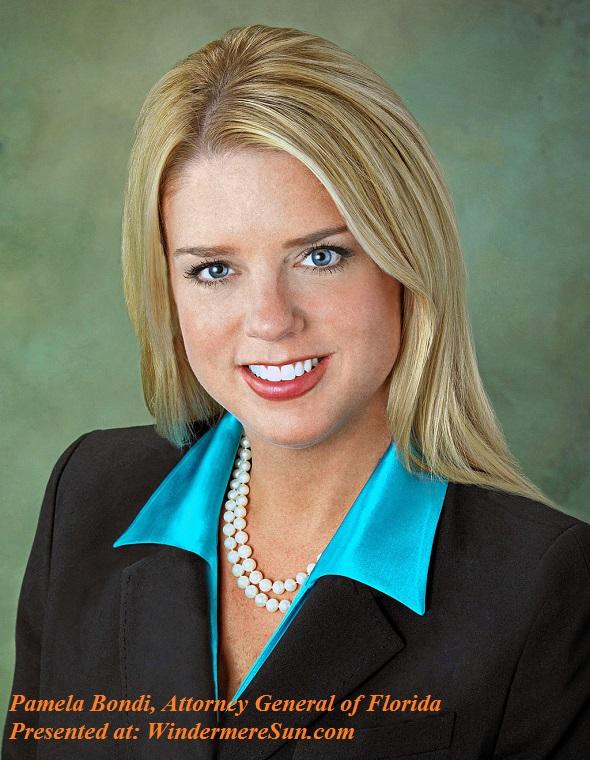 Pamela Bondi, Attorney General of Florida, PD final