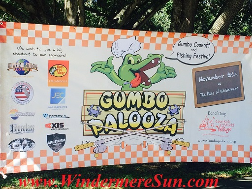 November 8, 2014, at The Pines of Windermere..Benefitting Give Kids The World Village (www.Gumbopalooza.org)