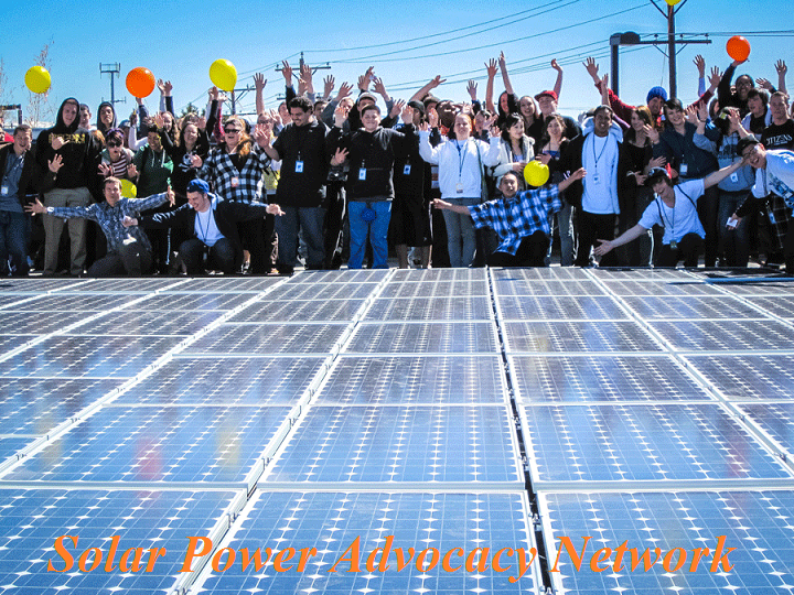 Help Your School Districts To Save A Million Dollars (credit: Solar Power Advocacy Network)