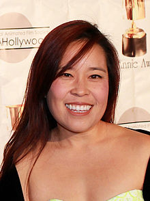 Stephanie Sheh (my niece and Anime award winning voice actress), featured guest at Anime Festival Orlando 2014.