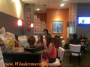 Tao Asian friendly staff with guests (credit: Windermere Sun-Susan Sun Nunamaker)